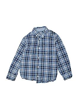 H&M L.O.G.G. Long Sleeve Button-Down Shirt Size 4 - 5