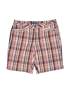 French Cuff Khaki Shorts Size 8