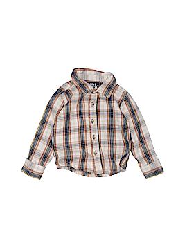 Boys Rock Long Sleeve Button-Down Shirt Size 12 mo