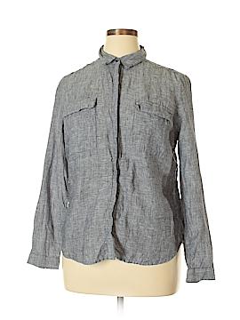 Autograph Long Sleeve Button-Down Shirt Size 14 (UK)