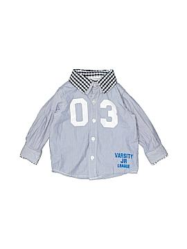 Koala Baby Long Sleeve Button-Down Shirt Size 18 mo