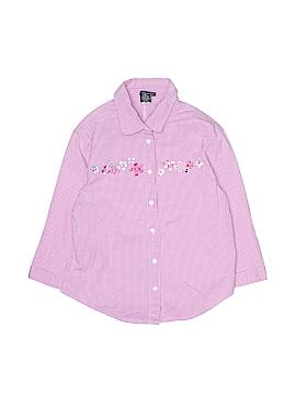 Gap Long Sleeve Button-Down Shirt Size 14 - 16