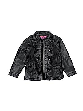 Dollhouse Faux Leather Jacket Size 2T
