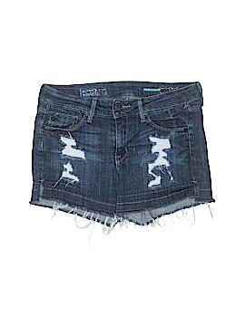 Fade to Blue Denim Shorts 27 Waist