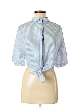 Trafaluc by Zara Short Sleeve Button-Down Shirt Size 6