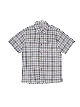High Sierra Short Sleeve Button-Down Shirt Size 7