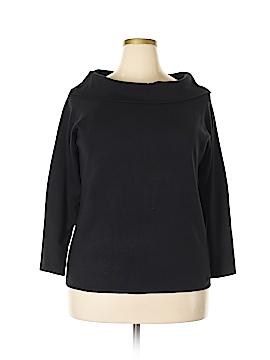 Hampshire Studio Pullover Sweater Size 2X (Plus)