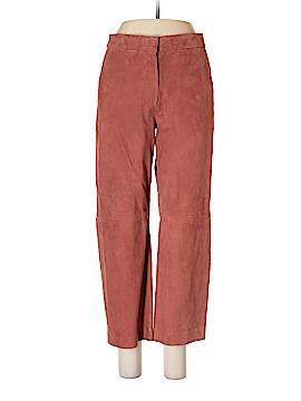 J. Crew Leather Pants Size 10