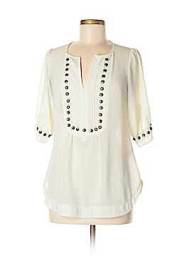 Angie Short Sleeve Blouse Size M