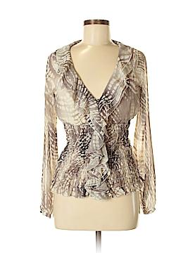 Andrea Behar Long Sleeve Blouse Size 8