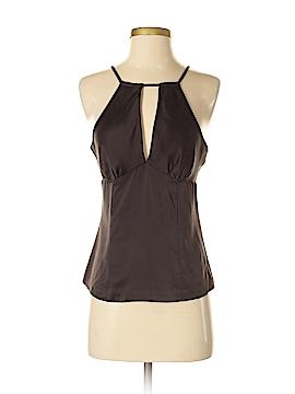 INC International Concepts Sleeveless Silk Top Size 4 (Petite)