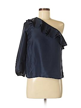 J. Crew 3/4 Sleeve Silk Top Size 6 (Petite)
