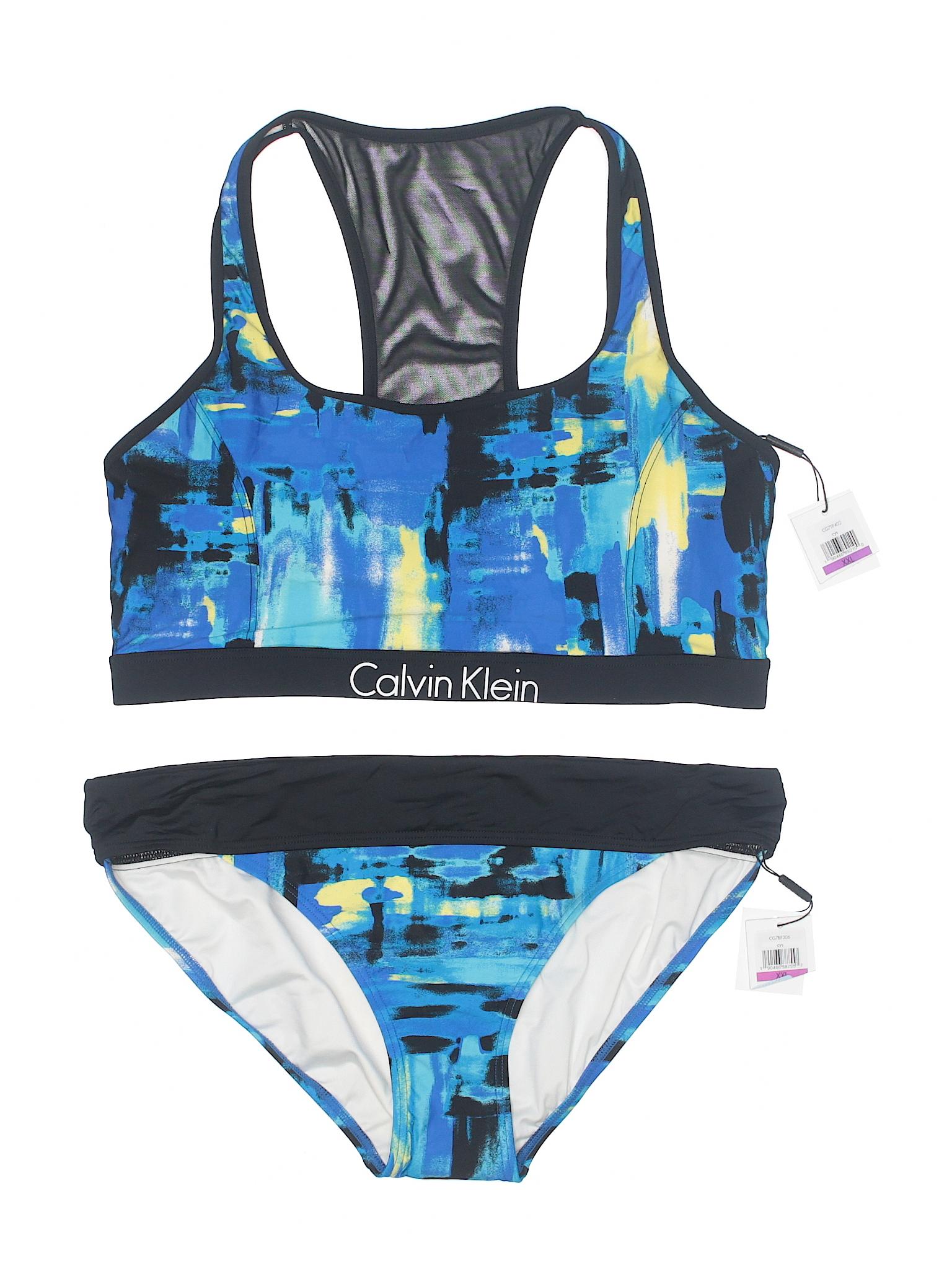 Swimsuit Klein Calvin Two Boutique Piece 1v0aIq