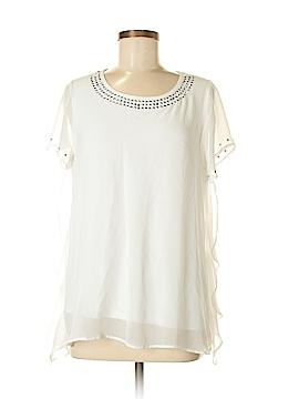 Alfani Short Sleeve Blouse Size M