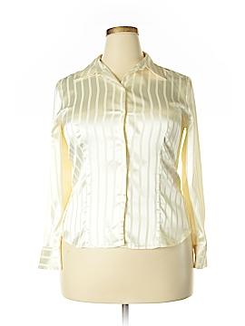Covington Long Sleeve Blouse Size 14 - 16 Petite (Petite)