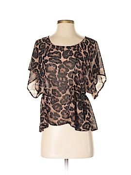 Haute Society Short Sleeve Blouse Size XS