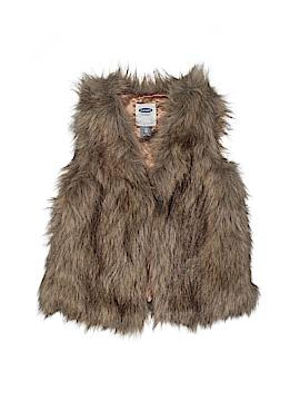 Old Navy Faux Fur Vest Size 4T