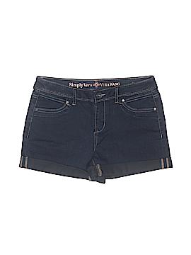 Simply Vera Vera Wang Denim Shorts Size 10 (Petite)