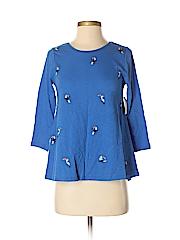 Crown & Ivy Women 3/4 Sleeve Top Size P (Petite)