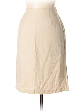 Hillard & Hanson Silk Skirt Size 12
