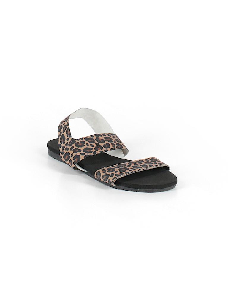 e1a6b4da7b0a4 Apt. 9 Animal Print Brown Sandals Size 7 - 8 - 60% off