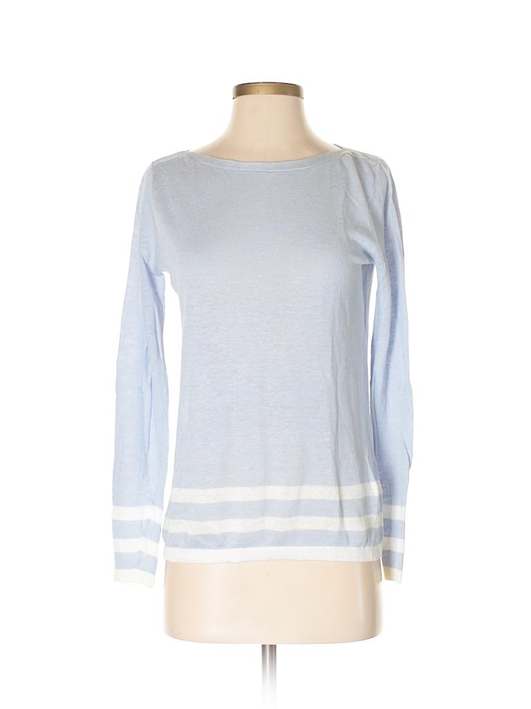 5982b2f3f6 Club Monaco Solid Light Blue Pullover Sweater Size S (Petite) - 85 ...