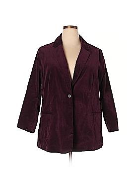 New York & Company Blazer Size 3X (Plus)