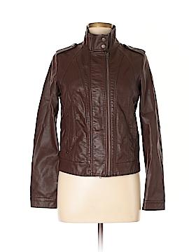 Quinn Faux Leather Jacket Size L