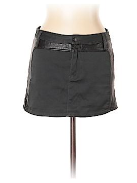 Sass & Bide Leather Skirt Size 42 (EU)