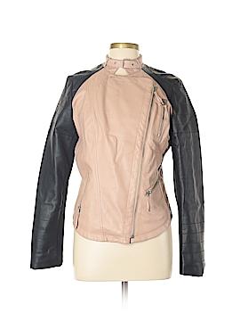 GB Faux Leather Jacket Size L