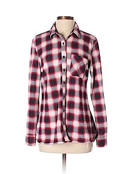 Eden & Olivia Long Sleeve Button-Down Shirt Size S