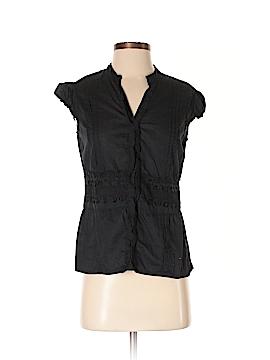 Passport Short Sleeve Button-Down Shirt Size L