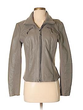 Revue Faux Leather Jacket Size S