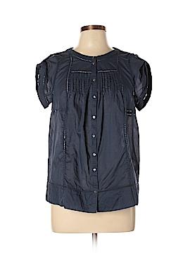 Joie Short Sleeve Button-Down Shirt Size L