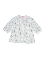 NKY Girls 3/4 Sleeve Button-Down Shirt Size 6