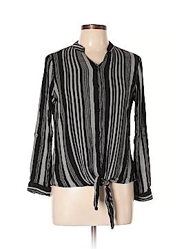 Glamorous Long Sleeve Button-Down Shirt Size 10