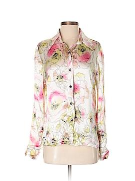 Confort Absolu Paris Long Sleeve Silk Top Size 2 (Tall)