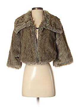 Jolt Faux Fur Jacket Size S