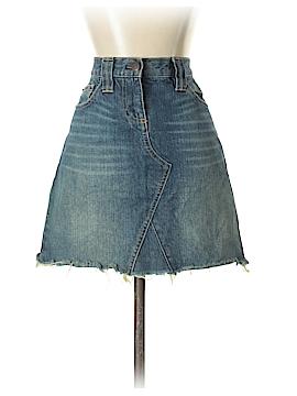 J. Crew Factory Store Denim Skirt 27 Waist