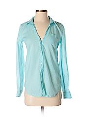 Lilly Pulitzer Women Long Sleeve Button-Down Shirt Size XS