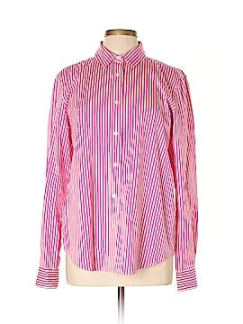 Lauren by Ralph Lauren Long Sleeve Button-Down Shirt Size 16
