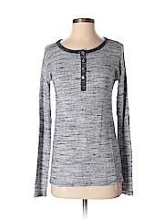 Laila Jayde Women Long Sleeve Henley Size XS