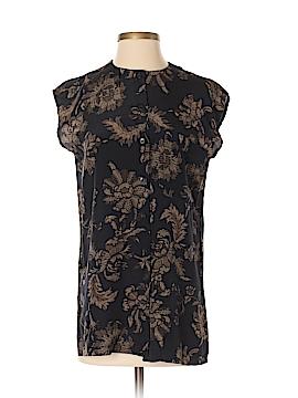 Jones New York Short Sleeve Silk Top Size 2