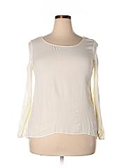 Pink Republic Women Long Sleeve Blouse Size L