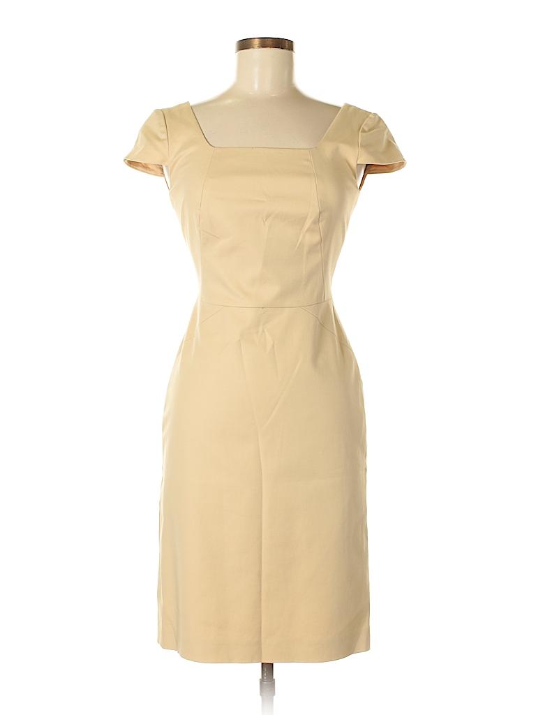 cabd099bd63 Antonio Melani Solid Tan Casual Dress Size 0 - 71% off
