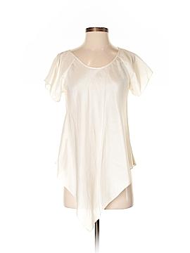 TRYB Short Sleeve Silk Top Size 4