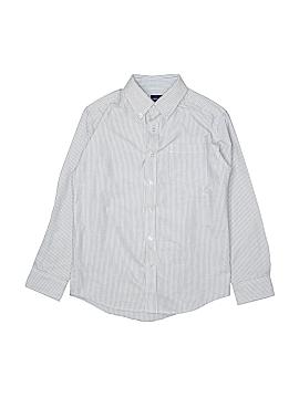 Arrow Long Sleeve Button-Down Shirt Size 14