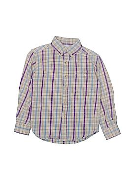 Arizona Jean Company Long Sleeve Button-Down Shirt Size 7