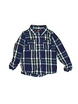 Joe Fresh Long Sleeve Button-Down Shirt Size 4T