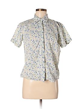 A.L.C. Short Sleeve Button-Down Shirt Size M